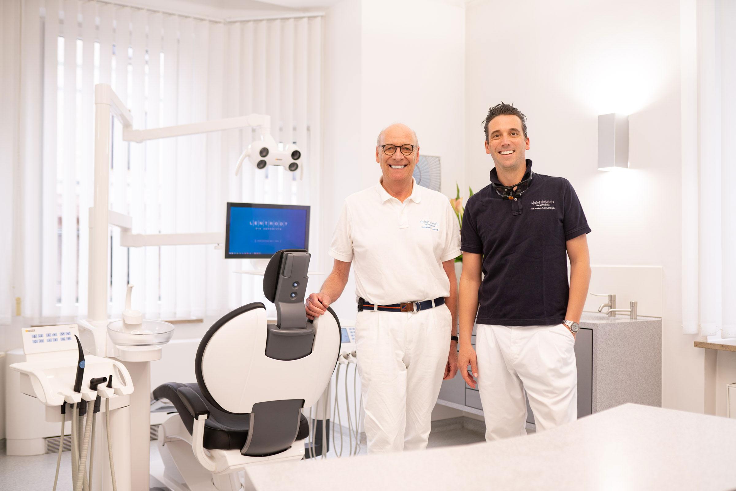 Zahnarzt Lentrodt - Dr. Michael Lentrodt & Dr. Markus Lentrodt