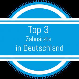 Top 3 Zahnärzte in Deutschland
