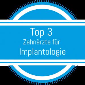 Top 3 Zahnärzte für Implantologie